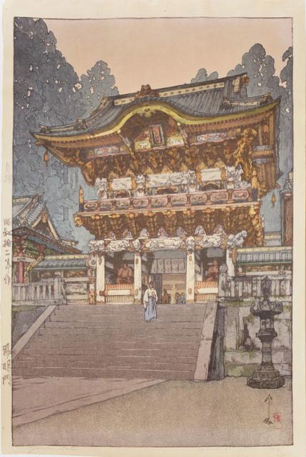 , 'Yomei Gate,' 1937, Ronin Gallery
