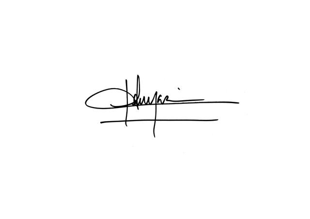 , 'La Signature,' 2015, mfc - michèle didier