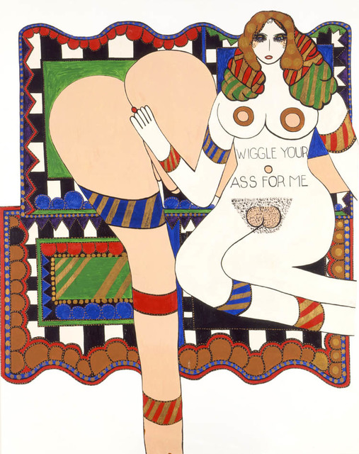 , 'Wiggle Your Ass For Me,' 1970, Air de Paris