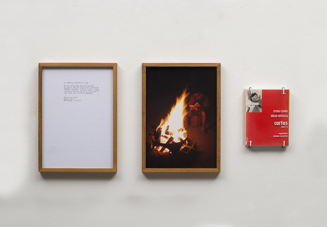 , 'ao diálogo, através do fogo, from the readings series,' 2014, Galeria Jaqueline Martins
