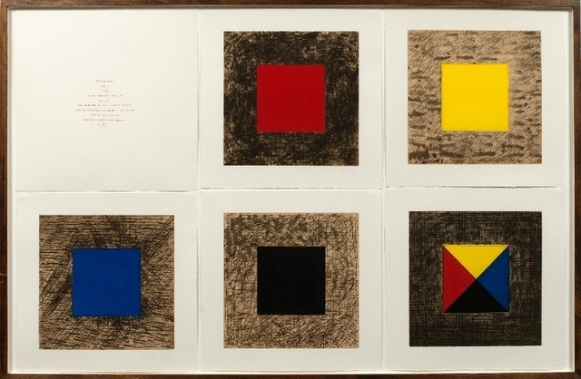 , 'Drawing Lesson Part 2, Color,' 1978, Drawing Center