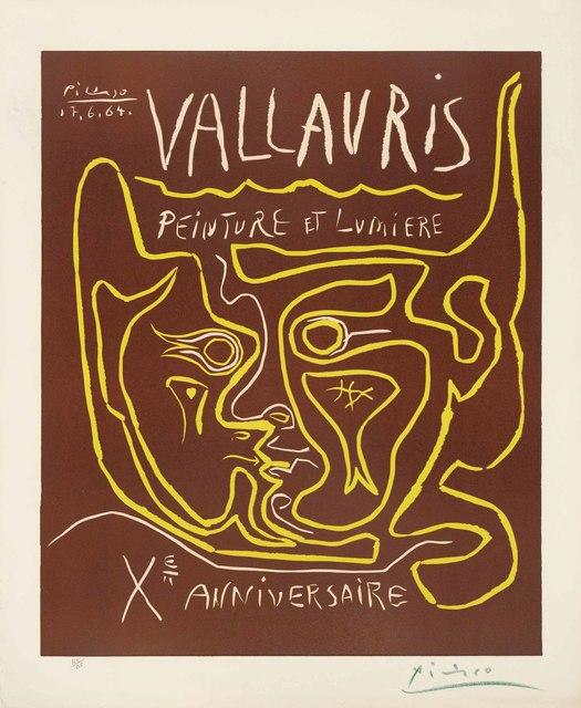 Pablo Picasso, 'Vallauris. Peinture et Lumière. Xe Anniversaire', 1964, Christie's