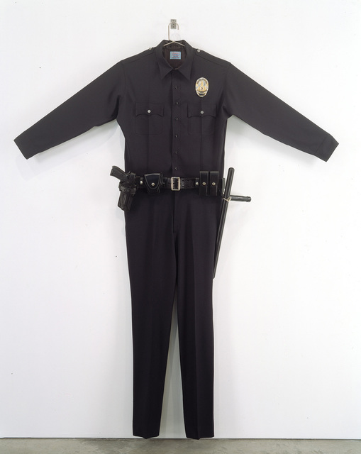 , 'L.A.P.D. Uniform,' 1993, Gagosian