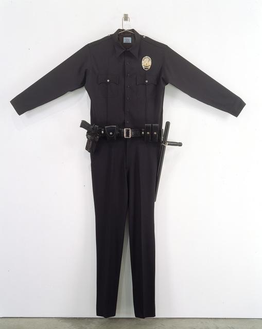 Chris Burden, 'L.A.P.D. Uniform', 1993, Mixed Media, Fabric, leather, wood, metal and plastic, Gagosian