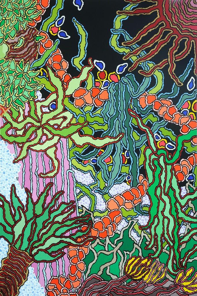 Carol Brown Goldberg, U0027The Garden Of The Moon Godu0027, 2015,