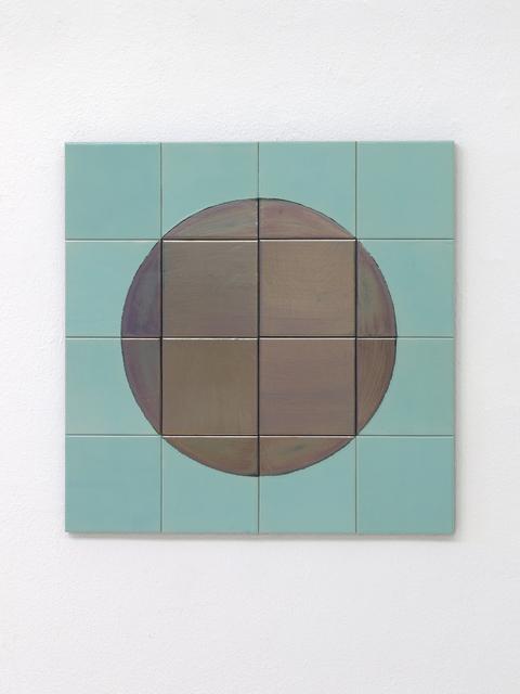 Claudia Wieser, 'Untitled', 2014, Other, Glazed ceramic tile, Sies + Höke