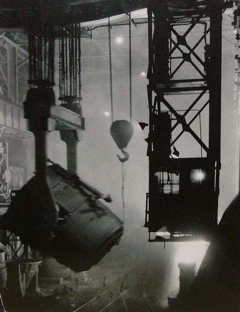 Margaret Bourke-White, '200-Ton Ladle at Work', 1929, Contessa Gallery