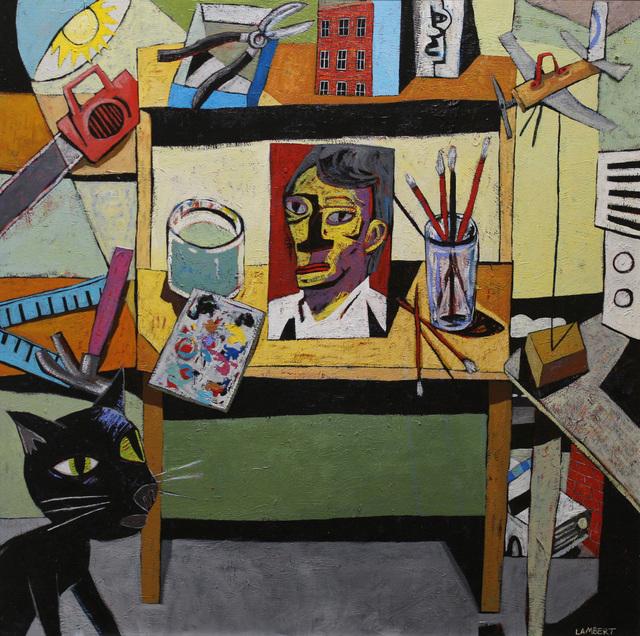 , 'West Bank Studio,' 2018, LeMieux Galleries