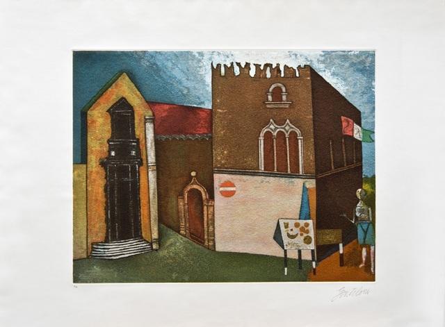 , 'Ricordo di Taormina / Memory of Taormina,' ca. 1975, Galleria Edarcom Europa