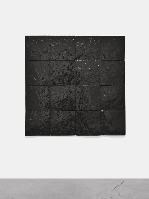 , 'Untitled (Black Earth Series-16 Tiles),' 1978, Almine Rech