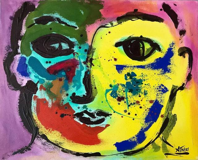 Ana Tatya Neri, 'Curioso', Painting, Acrylic on Canvas, Galleria Dante