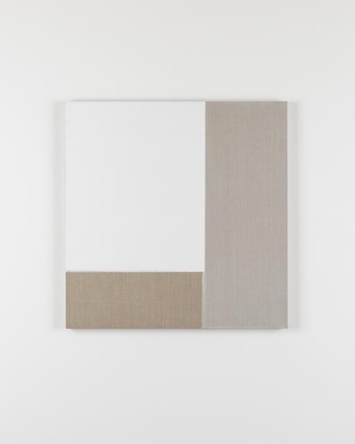 , 'Exposed Painting Titanium White,' 2016, Ingleby Gallery