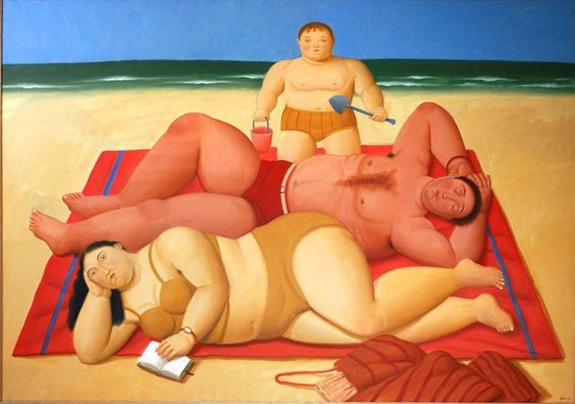 , 'The Beach,' , Athena Galeria de Arte