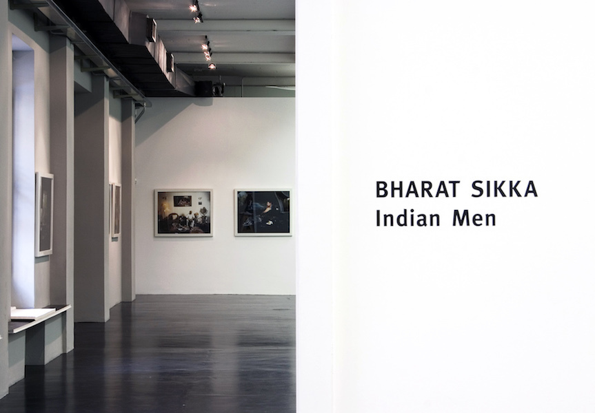 Indian Men, Bharat Sikka, 2008, installation view at Otto Zoo. Courtesy Otto Zoo