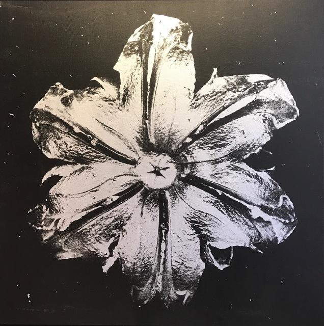 , 'Power Flower N-3 (Silver on black),' , Octavia Art Gallery