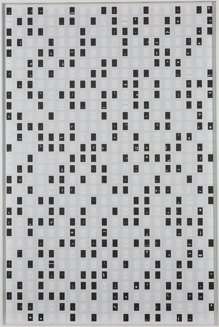 Marco Maggi, 'Spelling B&W', 2018, Piero Atchugarry Gallery