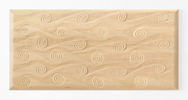 , 'Wave Headboard/Relief,' 2012, Gallery NAGA