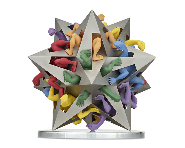 Andreas Von Zadora-Gerlof, 'Gravity', 2014-2015, Sculpture, Stainless steel and polymer,  M.S. Rau