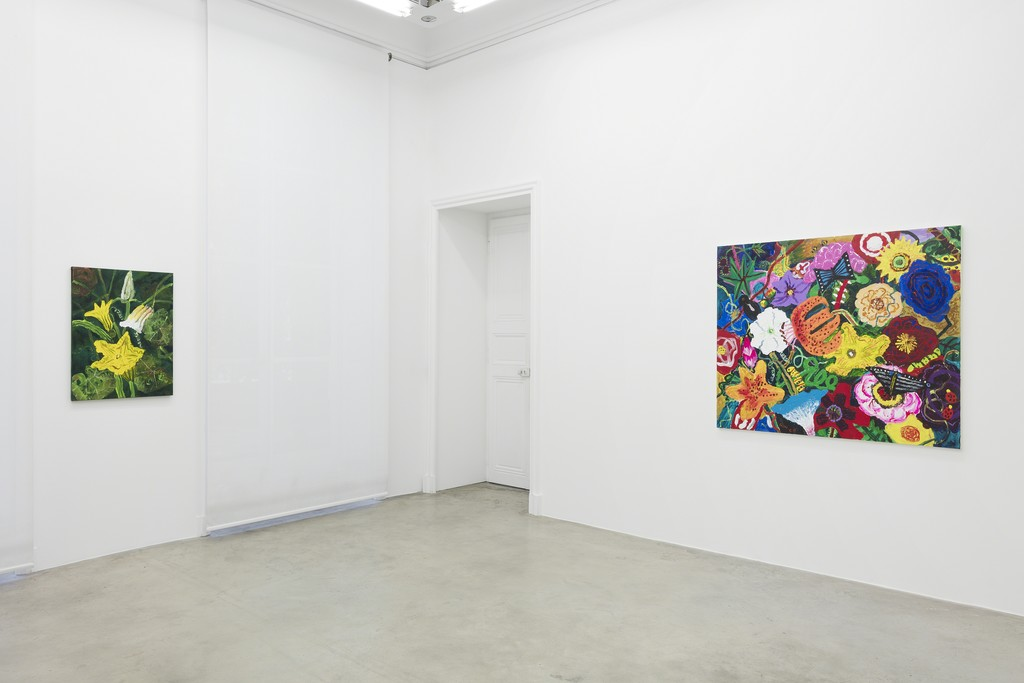 View of the exhibition 'Vitality' by Kim Chong-Hak at Perrotin Paris. Courtesy of the artist and Perrotin. Photo Claire Dorn.