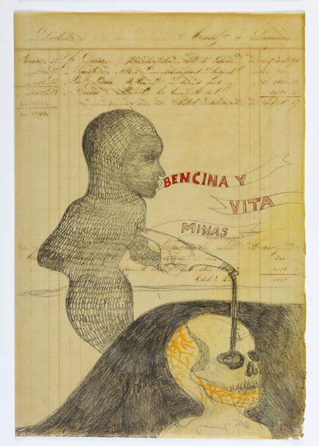, 'Bencina y vitaminas,' 2012, Hopstreet