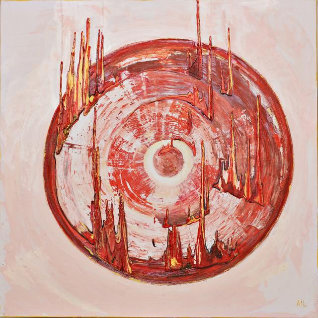 ", '3rd PORTAL element ""FIRE ELEMENT EXIT,' 2018, Renaissance Art Gallery"