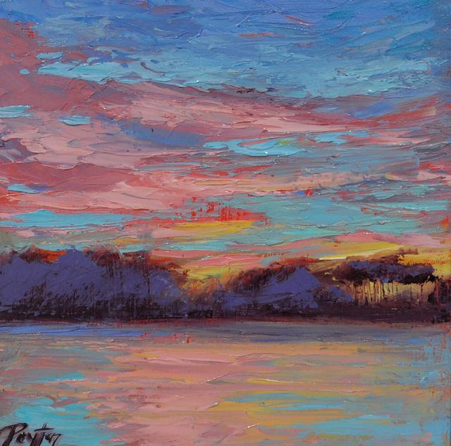 Peyton Hutchinson, 'Lake Sunset', 2019, Caron Gallery