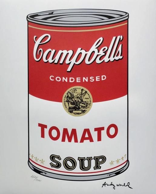 Andy Warhol, 'Campbells Tomato Soup', ca. 1969, Mixed Media, Lithograph, Lyons Gallery