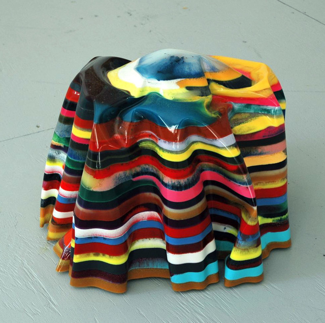 Markus Linnenbrink, 'BIENVENIDASAMIDISCO-HIPHOPNOPARES', 2008, Sculpture, Epoxy resin, pigments, Taubert Contemporary