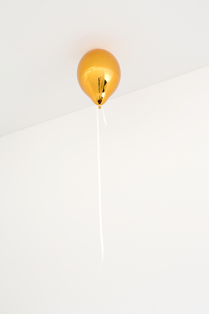 , 'Orange Balloon (dark),' 2017, Galleri Nicolai Wallner