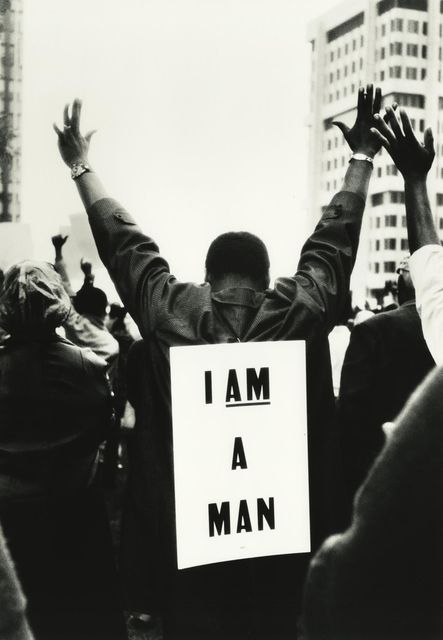 , 'I am a Man, Memphis, Tennessee, 1968,' , Monroe Gallery of Photography