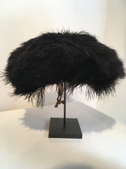 , 'Hehe hat. Ostrich feather hat from the Hehe tribe,' , Linda Bird Ltd