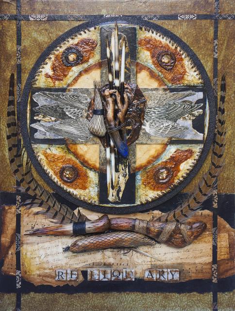 , 'Reliquary,' 2014, Galleria Ca' d'Oro