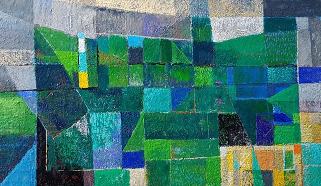 Carlos Pellicer, 'Paisaje entablerado', 2008, Aldama Fine Art
