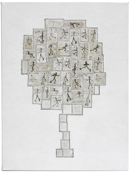 , 'rink tree,' 2017, Craig Krull Gallery