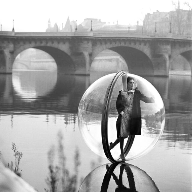 , 'On the Seine Kick, Paris,' 1963, Holden Luntz Gallery