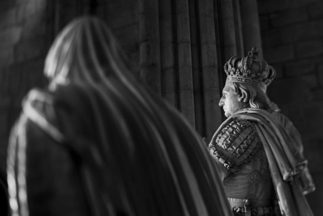 , 'St Denis Orants de Louis XVI et de Marie-Antoinette (007),' 2014, Galerie Galea