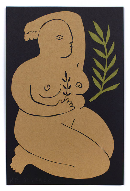 RF Alvarez, 'Mujer Curiosa', 2019, Uprise Art