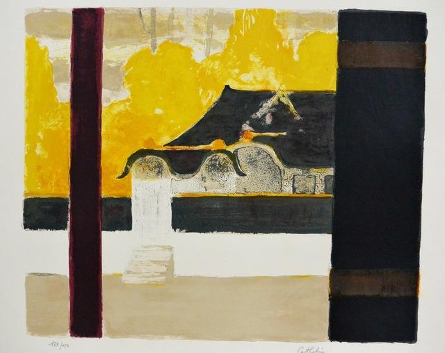 , 'Pagode a Nikko,' 1969, Artioli Findlay