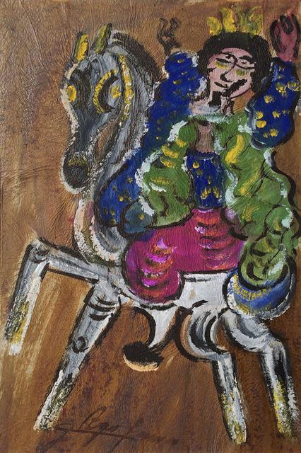 , 'Rey a caballo,' , Galeria Enrique Guerrero