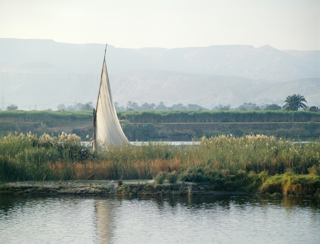, 'Felucca on Nile,' 1982, Vision Neil Folberg Gallery