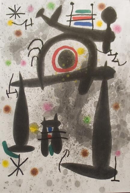 Joan Miró, 'Le Miroir de l'Homme par les Betes', 1972, ArtWise