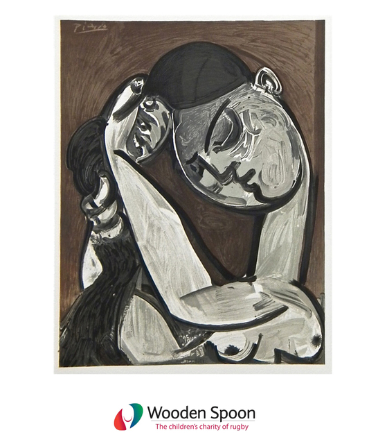 Pablo Picasso, 'Untitled (Femme Se Coiffant from San Lazzaro et ses amis))', 1975, Lougher Contemporary Gallery Auction