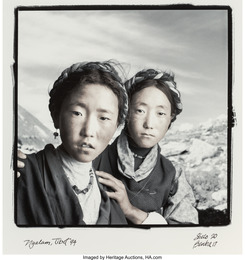 Shelo, 20 and Benba, 17, Nyalam, Tibet