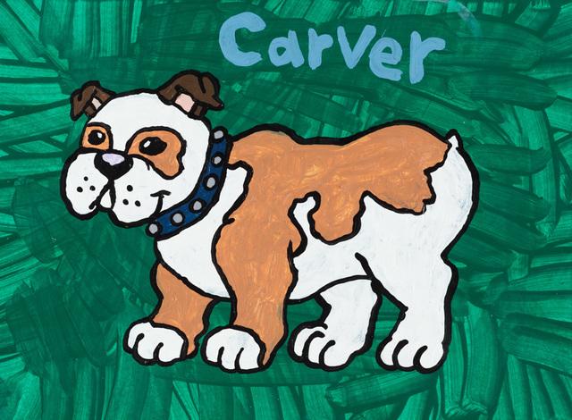 , 'Carver the Bulldog,' 2013, Creativity Explored