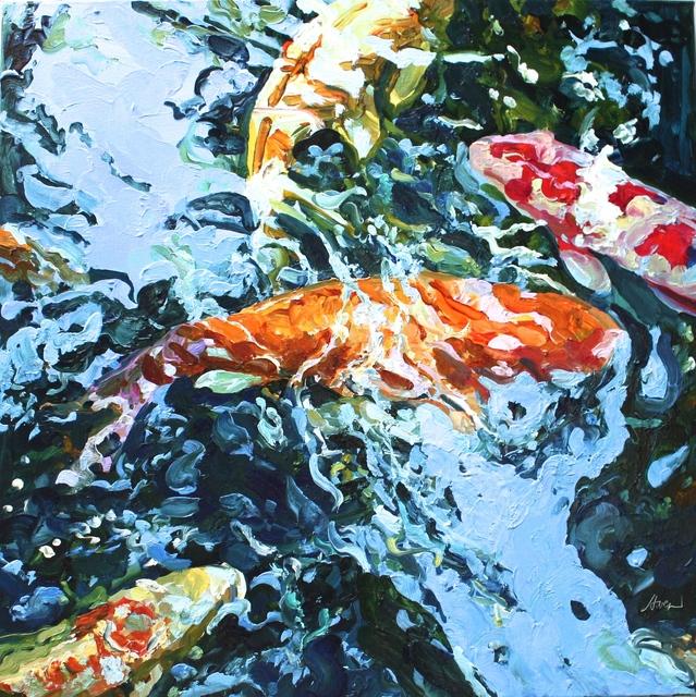 , 'Square Koi 8,' , Beth Urdang Gallery