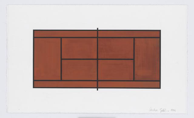 , 'Court #4,' 2014, New Art Centre