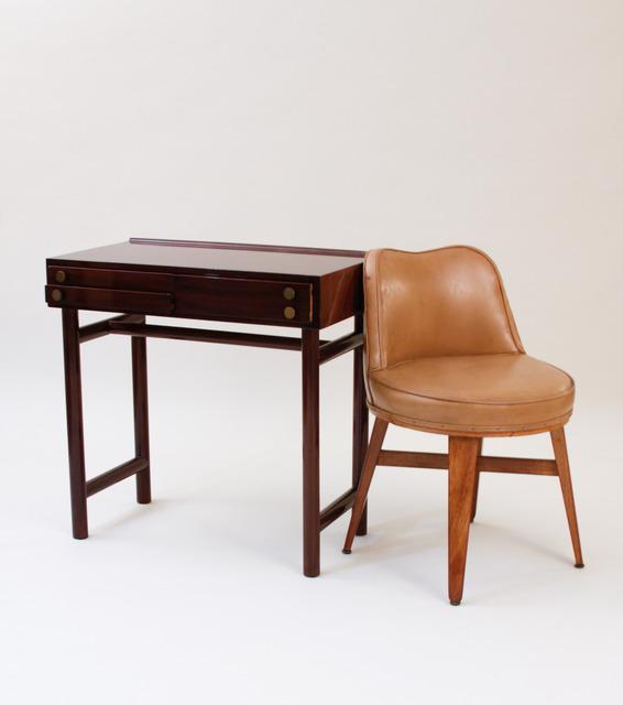 , 'Writing Table with Swivel Chair,' 1938-1945, Lillian Nassau LLC