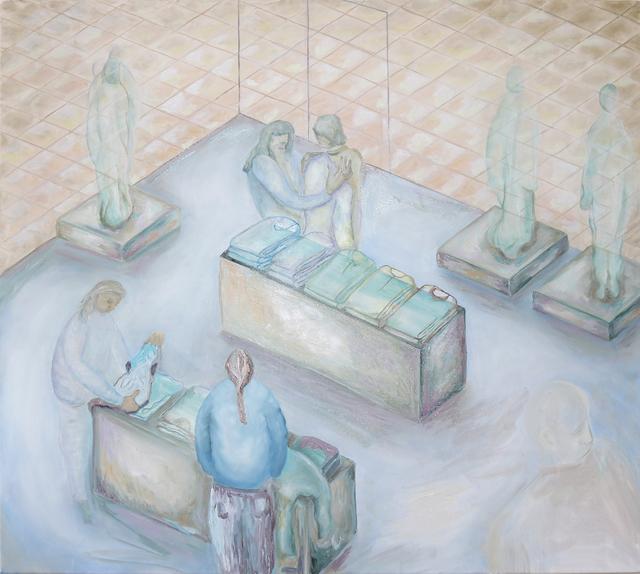 Anne Speier, 'Mall', 2019, Painting, Oil, Acrylic on Canvas, Galerie Meyer Kainer