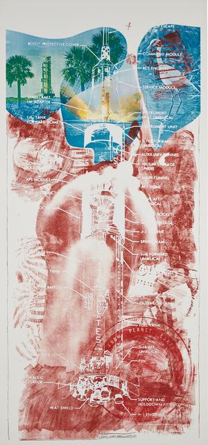 Robert Rauschenberg, 'Sky Garden, from The Stoned Moon Series', 1969, Phillips
