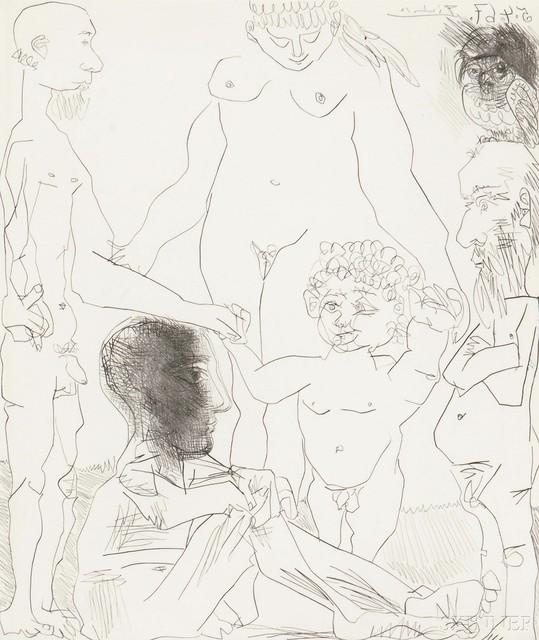 Pablo Picasso, 'Reflexion du peintre sur la vie', 1967, Skinner